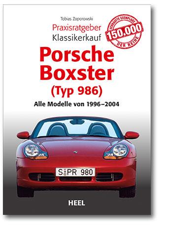 Buchcover Klassikerkauf Porsche Boxster (Typ 986) vom Heel Verlag