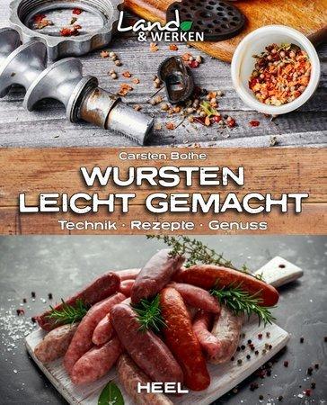 Buchcover Land und werken: Wursten leicht gemacht   Heel Verlag