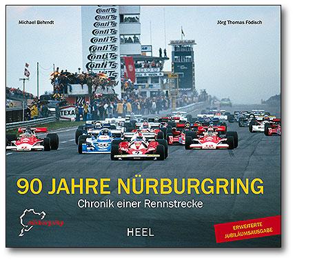 Buchcover 90 Jahre Nürburgring - Chronik einer Rennstrecke vom Heel Verlag