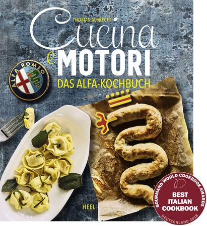 Buchcover: Das Alfa Romeo Kochbuch vom Heel Verlag