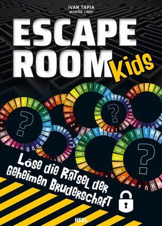 Buchcover Escape Room Kids - Die Rätsel der geheimen Bruderschaft | Heel Verlag