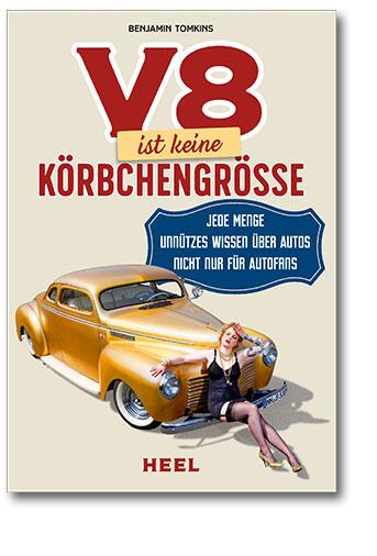 Buchcover V8 ist keine Körbchengröße Heel Verlag