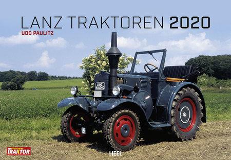 Kalendercover Lanz Traktoren 2020 vom Heel Verlag