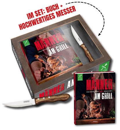 Buchcover Männer am Grill vom Heel Verlag