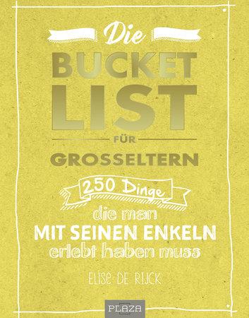 Buchcover Bucket List für Großeltern | Heel Verlag