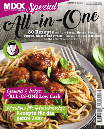 Sonderheft MIXX: Food with love - All-in-one