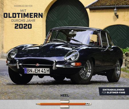 Kalendercover Mit Oldtimern durchs Jahr 2020 vom Heel Verlag