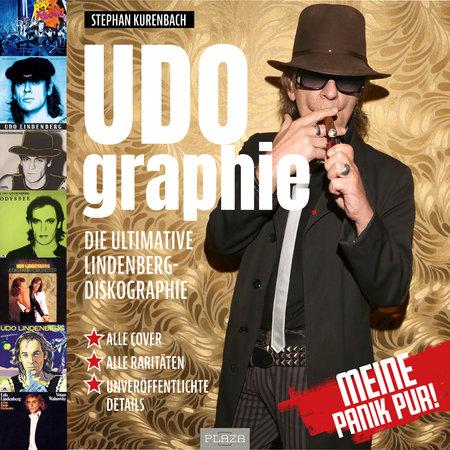 Buchcover UDOgraphie - Die ultimative Lindenberg-Diskographie | Heel Verlag