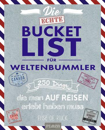 Buchcover Bucket List für Weltenbummler | Heel Verlag