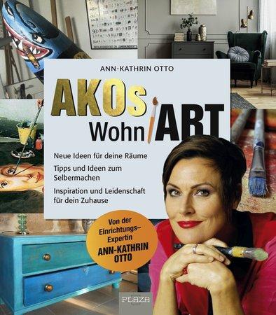 Buchcover Akos Wohn-Art - Neue Ideen für Deine Räume | Heel Verlag