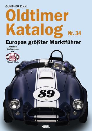 Buchcover Oldtimer Katalog 34 | Heel Verlag