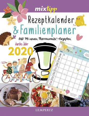 Kalendercover Mixtipp: Rezeptkalender & Familienplaner 2020 vom Heel Verlag