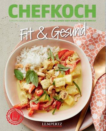 Buchcover Chefkoch: Fit und Gesund | Heel Verlag