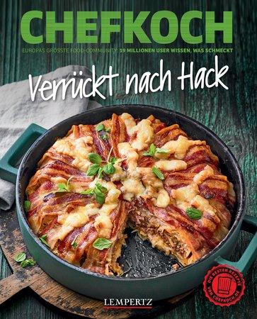 Buchcover Chefkoch: Verrückt nach Hack | Heel Verlag