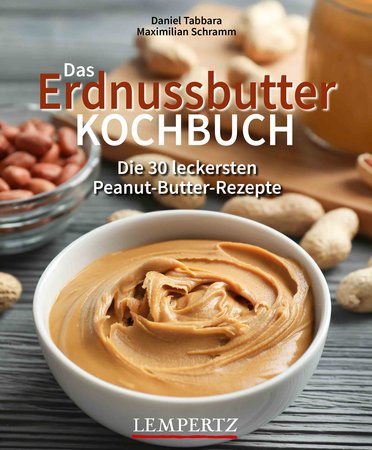 Buchcover Das Erdnussbutter-Kochbuch   Heel Verlag