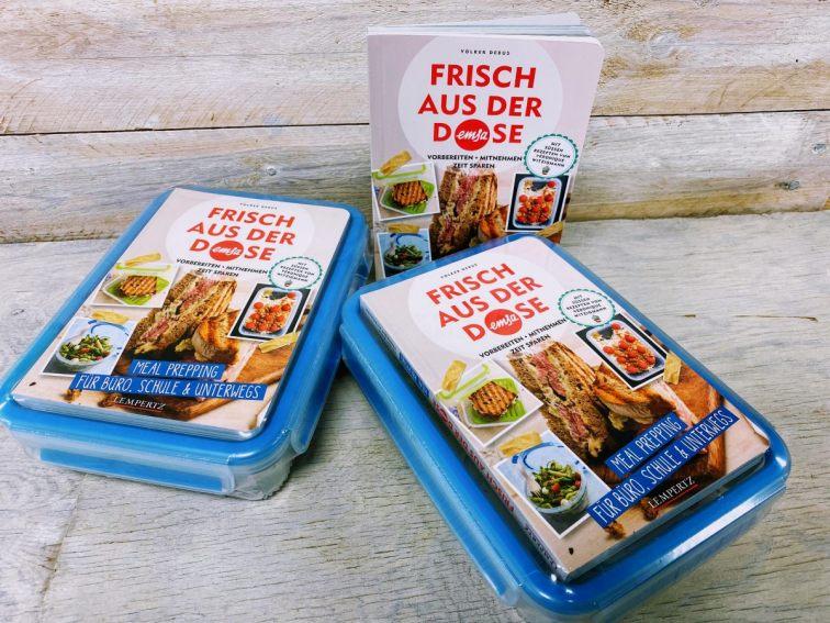 Buchcover Meal Preping mit Emsa - Für Büro und Unterwegs | Heel Verlag