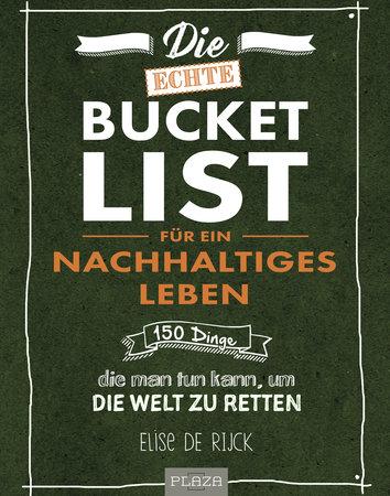 Buchcover Bucket List für ein nachhaltiges Leben | Heel Verlag