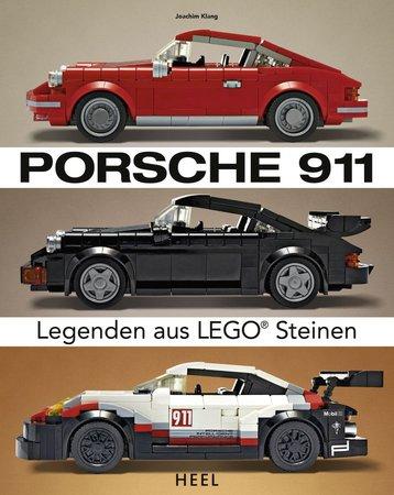 Buchcover Porsche 911 - Legenden aus LEGO®-Steinen | Heel Verlag