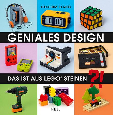 Buchcover Geniales Design aus Lego-Steinen | Heel Verlag