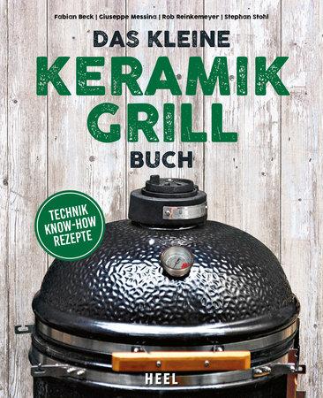 Buchcover Das kleine Keramik-Grill-Buch | Heel Verlag