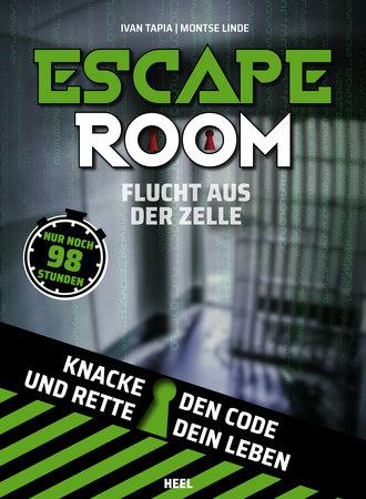 Buchcover Escape Room - Flucht aus der Zelle   Heel Verlag