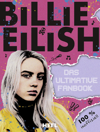 Buchcover Billie Eilish - Das ultimative Fanbuch | Heel Verlag