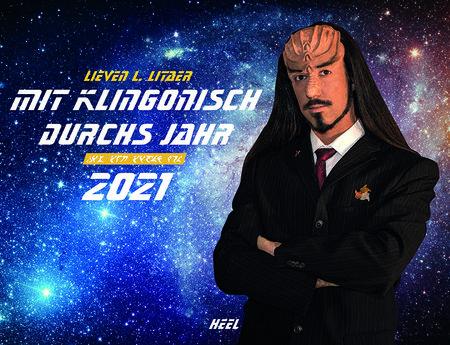 Kalendercover Mit Klingonisch durchs Jahr 2021 | Heel Verlag