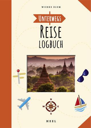Buchcover Unterwegs: Reise-Logbuch | Heel Verlag