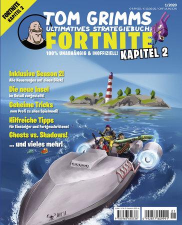 Buchcover Das ultimative Strategiebuch zu Fortnite Kapitel 2 | Heel Verlag
