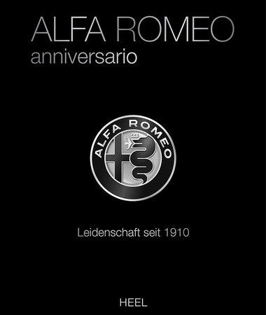 Buchcover Alfa Romeo Anniversario | Heel Verlag