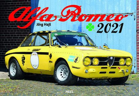 Kalendercover Alfa Romeo 2021   Heel Verlag