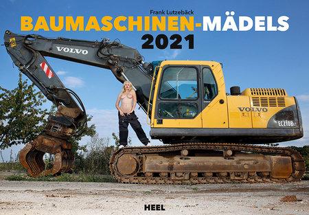 Kalendercover Baumaschinen-Mädels 2021 | Heel Verlag