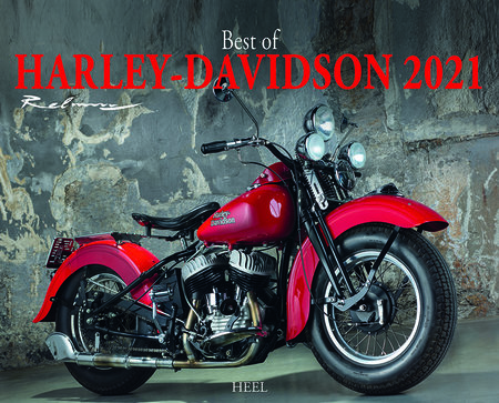Kalendercover Best of Harley-Davidson 2021   Heel Verlag
