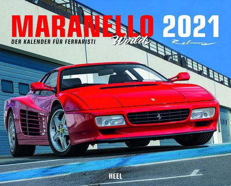 Maranello World 2021 - Der Kalender für Ferraristi | Heel Verlag