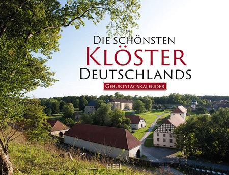 Kalendercover Deutschlands schönste Klöster | Heel Verlag