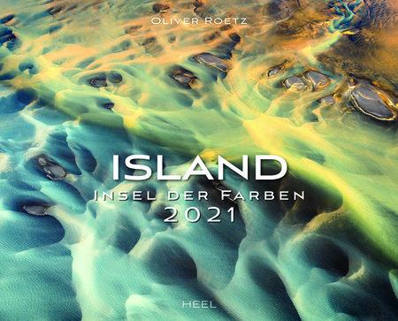 Kalendercover Island 2021 | Heel Verlag