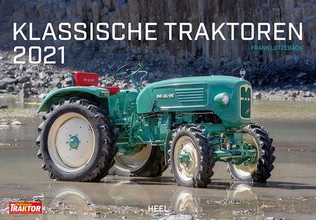 Kalendercover Klassische Traktoren 2021 | Heel Verlag