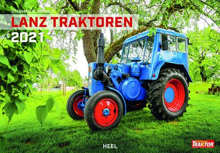Kalendercover Lanz Traktoren 2021 | Heel Verlag