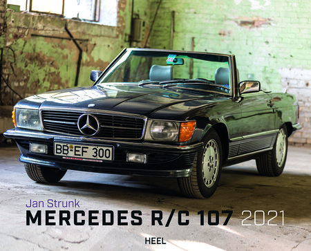 Kalendercover Mercedes R/C 107 2021 | Heel Verlag