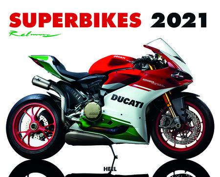Kalendercover Superbikes 2021   Heel Verlag