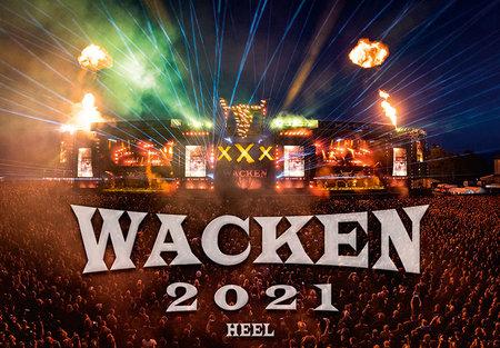Kalendercover Wacken 2021 | Heel Verlag