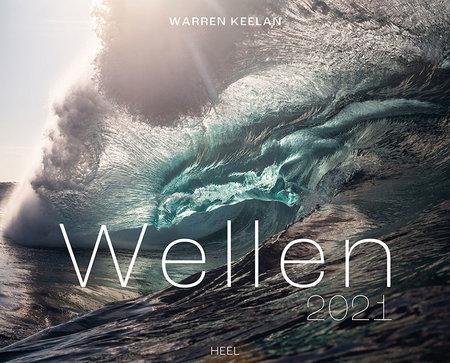 Kalendercover Wellen 2021 | Heel Verlag