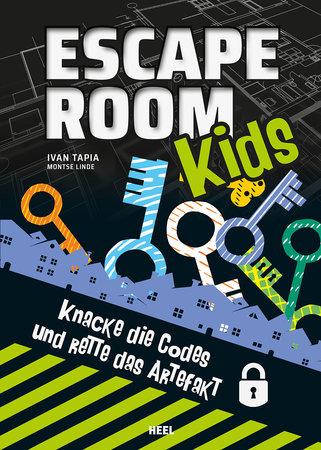 Buchcover Escape Room Kids 2 | Heel Verlag