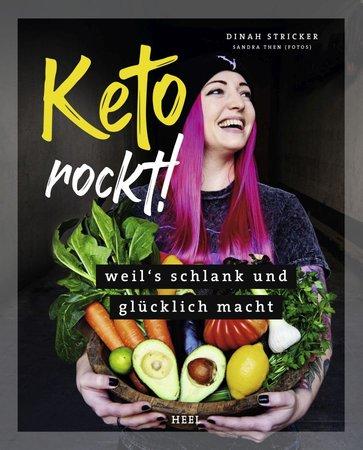 Buchcover Keto Rockt - Weils schlank und glücklich macht | Heel Verlag