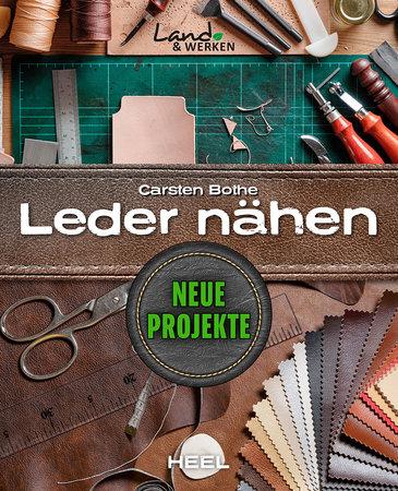Buchcover Leder nähen - Neue Projekte von Carsten Bothe | Heel Verlag