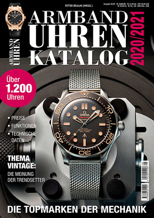 Buchcover Armbanduhren Katalog 2020/21 | Heel Verlag