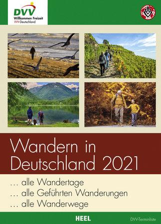 Buchcover Wandern in Deutschland 2021 | Heel Verlag