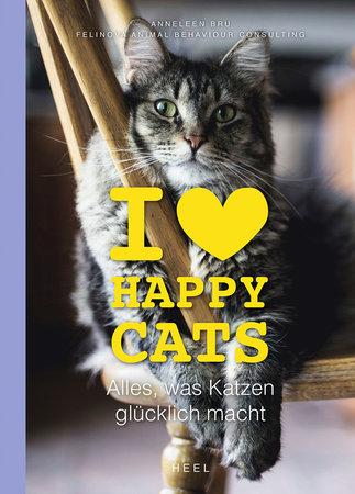 Buchcover I love happy cats | Heel Verlag