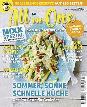 Buchcover MIXX Spezial - Kochen mit dem Thermomix: All in one | Heel Verlag