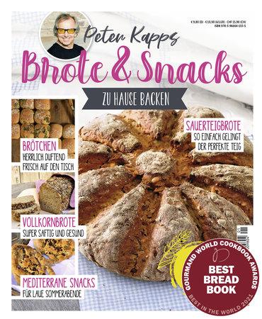 Buchcover Peter Kapp: Brote und Snacks zuhause Backen | Heel Verlag